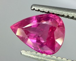 0.95 Crt Ruby Unheated Gil Certified Faceted Gemstone