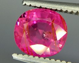 1.39 Crt Ruby Unheated Gil Certified Faceted Gemstone