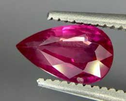0.96 Crt Ruby Unheated Gil Certified Faceted Gemstone