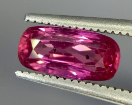 1.71 Crt Ruby Unheated Gil Certified Faceted Gemstone