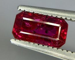 1.03 Crt Ruby Unheated Gil Certified Faceted Gemstone