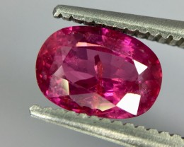 1.14 Crt Ruby Unheated Gil Certified Faceted Gemstone