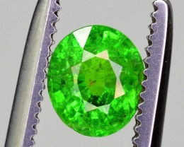 0.55 Ct Brilliant Color Rare Natural Tsavorite Garnet
