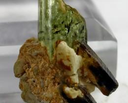 51.30 CT Natural - Unheated Aquamarine  Quartz  Combine Crystal