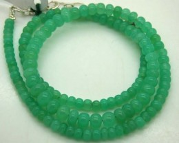 67.10CTS CHRYSOPRASE BEAD STRAND NP-2372