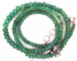 59.40CTS CHRYSOPRASE BEAD STRAND NP-2380