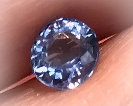.64 ct 5.0 x 4.5mm BRIGHT BLUE SAPPHIRE -  LIGHT & SPARKLE FABULOUS