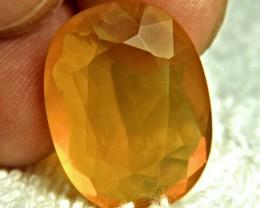 18.88 Carat Golden Mexican Fire Opal - Gorgeous
