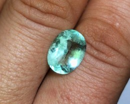 4.50 cts Colombian Emerald - Glowing Green - Contains Chromium $1200