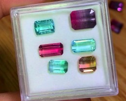 11.15 cts AAA MultiColor Tourmaline Parcel ~ Brazil/Afghan Origins $850