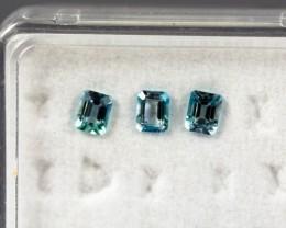 4.03 - 4.07 x 3.15 - 3.19 x 2.69 Blue Aquamarine 0.68 ct Brazil GPC Lab