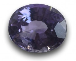Natural Unheated Violet Sapphire|Loose Gemstone| Sri Lanka - New