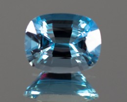 Blue Aquamarine 2.55 ct Brazil GPC Lab