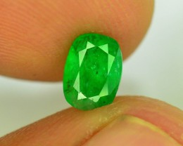Top Color 0.95 ct Natural Emerald~Swat SR.1