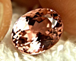 CERTIFIED - 4.30 Carat Pink IF/VVS1 Tourmaline - Superb