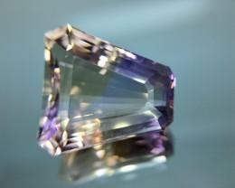 16.62 Cts Bolivian Ametrine Stunning Luster & Cut Gemstone  Pk10