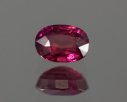 GIA Red Ruby 1.30 ct  GPC Lab