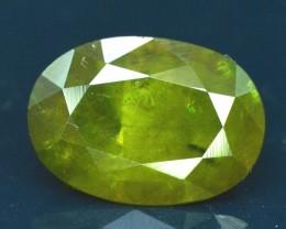 3.30 cts ct Oval Cut Shape Full Fire Sphene titanite From Skrdu Paksitan