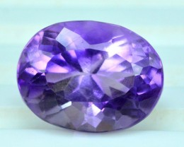 AAA Grade 10.20 cts Top Grade Quality Oval Shape Cut Untreated Amethyst Gem