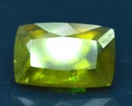 3.45 cts Baguette Cut Full Fire Sphene titanite From Skrdu Paksitan
