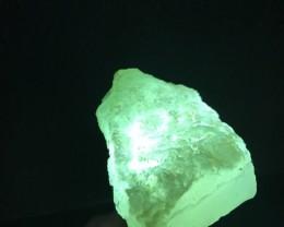 347CT Chrysoprase Chalcedony Rough - AAA Grade Blue-Green CRP001