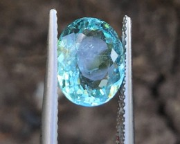 3.05Cts Certified Marvelous Paraiba Tourmaline