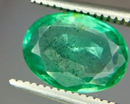 1.95 Crt Emerald Faceted Gemstone (R 177)