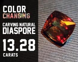 SALE !!!Gorgeous! Excellent! AAA - 13.28ct - Diaspore Natural Turkish
