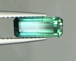 1.30 Cts Untreated Indicolite Tourmaline Awesome Color ~ Afghanistan Pk11
