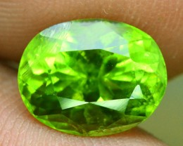 3.35 cts Oval Cut Natural Olivine Green Natural Peridot Gemstone