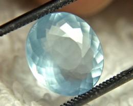 3.13 Carat Blue Milky Brazil Aquamarine - Gorgeous