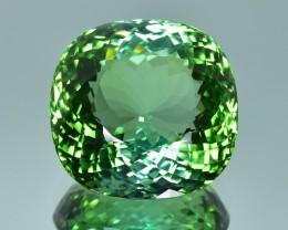 34.28 Cts Fabulous Top Green  Beautiful Natural Tourmaline