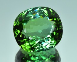 18.53 Cts Excellent Fascinating Natural Top Green Tourmaline