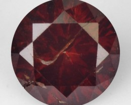 0.17 Cts natural Red Diamond Round Africa