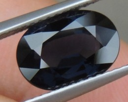2.98cts Blue Spinel,  100% Untreated,