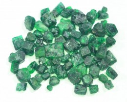 Top Color 70.30 ct Rough  Emerald For Jewelry