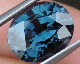 5.00cts Blue Spinel,  100% Untreated,