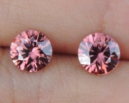 2.04cts, Pink Zircon,  Top Cut