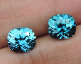 7.93cts, Blue Zircon,  Top Cut