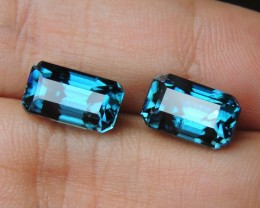 15.95cts, Blue Zircon,