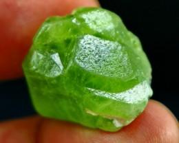 65.20 ct Natural - Unheated Superb Green Peridot Crystal