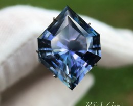 Fancy Tanzanite - 16.29 carats