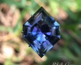 Fancy Tanzanite - 16.32 carats