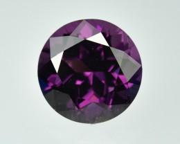 5.55 Cts Dazzling Round Purple Burmese Spinel