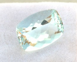 10.25 Carat Fine Cushion Cut Aquamarine