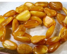30.1- CTS AMBER BEAD STRAND  NP-2403