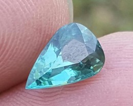 1.35 carats Awsome bright blue color Tourmaline