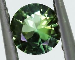 ---CERTIFIED--- 0.53 carats Green Tourmaline - NO treatment  ANGC 751