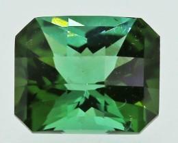 ---CERTIFIED--- 0.40 carats Green Tourmaline - NO treatment  ANGC 759