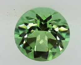 ---CERTIFIED--- 0.35 carats Green Tourmaline - NO treatment  ANGC 760